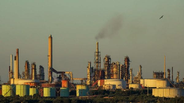 File photo of The Esso Fawley Oil Refinery, operated by Exxon Mobil Corp, used for representational purpose. (Bloomberg)