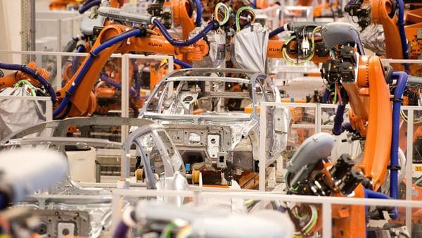 More than 2,200 new robots have now been ordered for the planned production of electric cars at Volkswagen's Emden, Hanover and Chattanooga plants.