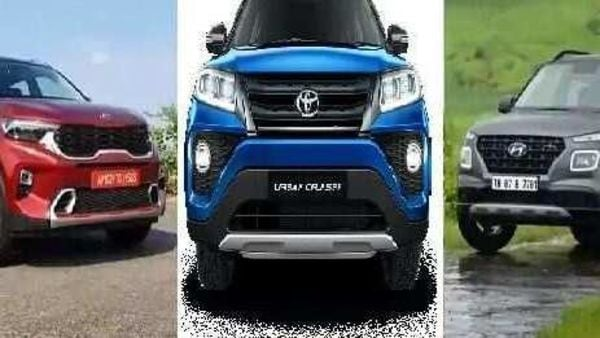 Toyota Urban Cruiser vs Kia Sonet vs Hyundai Venue