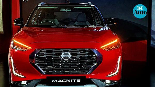 Nissan Magnite will be the latest sub-compact SUV to hit Indian roads. (HT Auto/Sabyasachi Dasgupta)