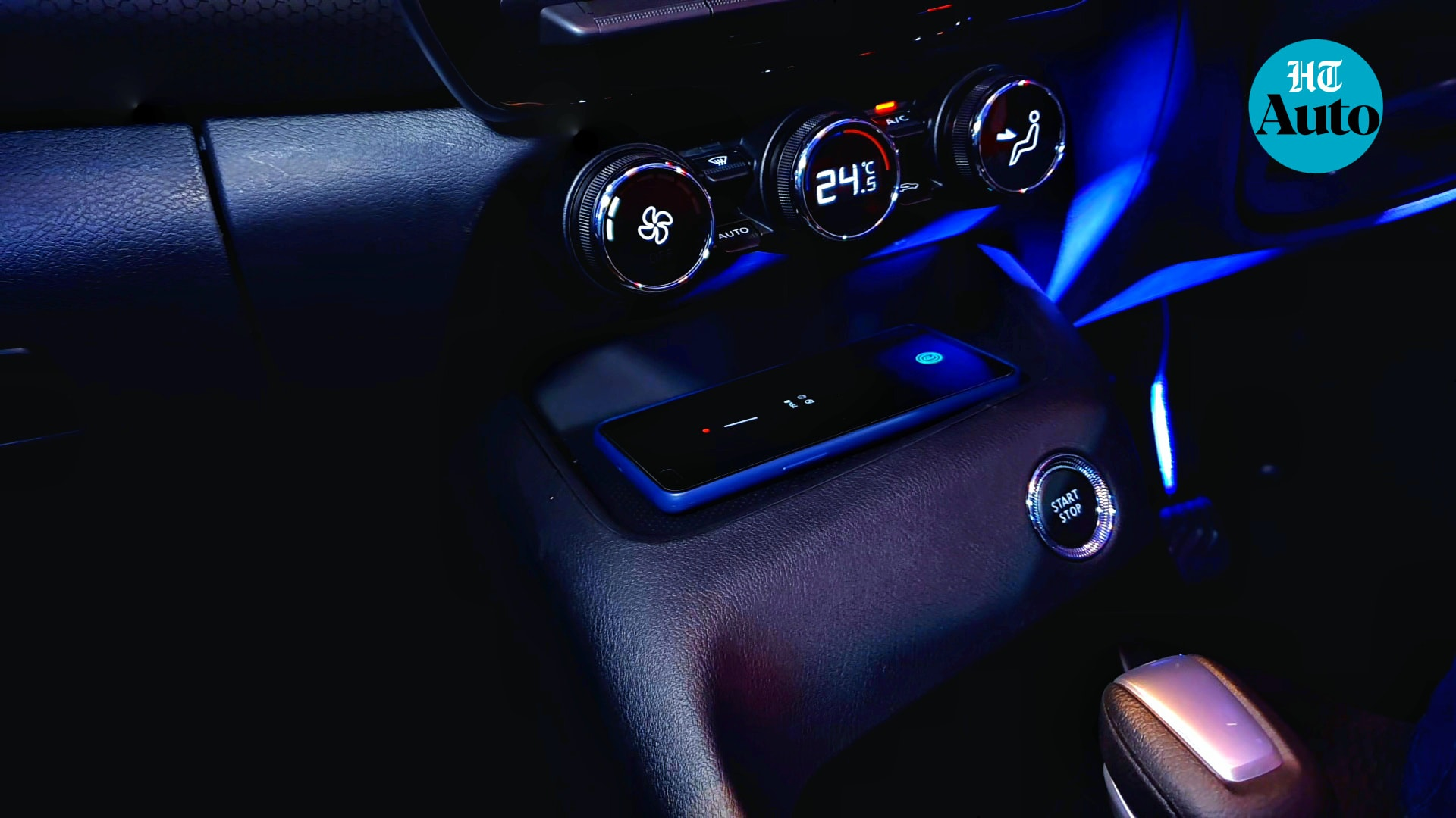 Nissan is promising an optional Tech pack for Magnite at the launch which would replace speakers with premium option. The pack would also include wireless phone charging system, air purifier, puddle lamps and ambient mood lighting, among others. (HT Auto/Sabyasachi Dasgupta)