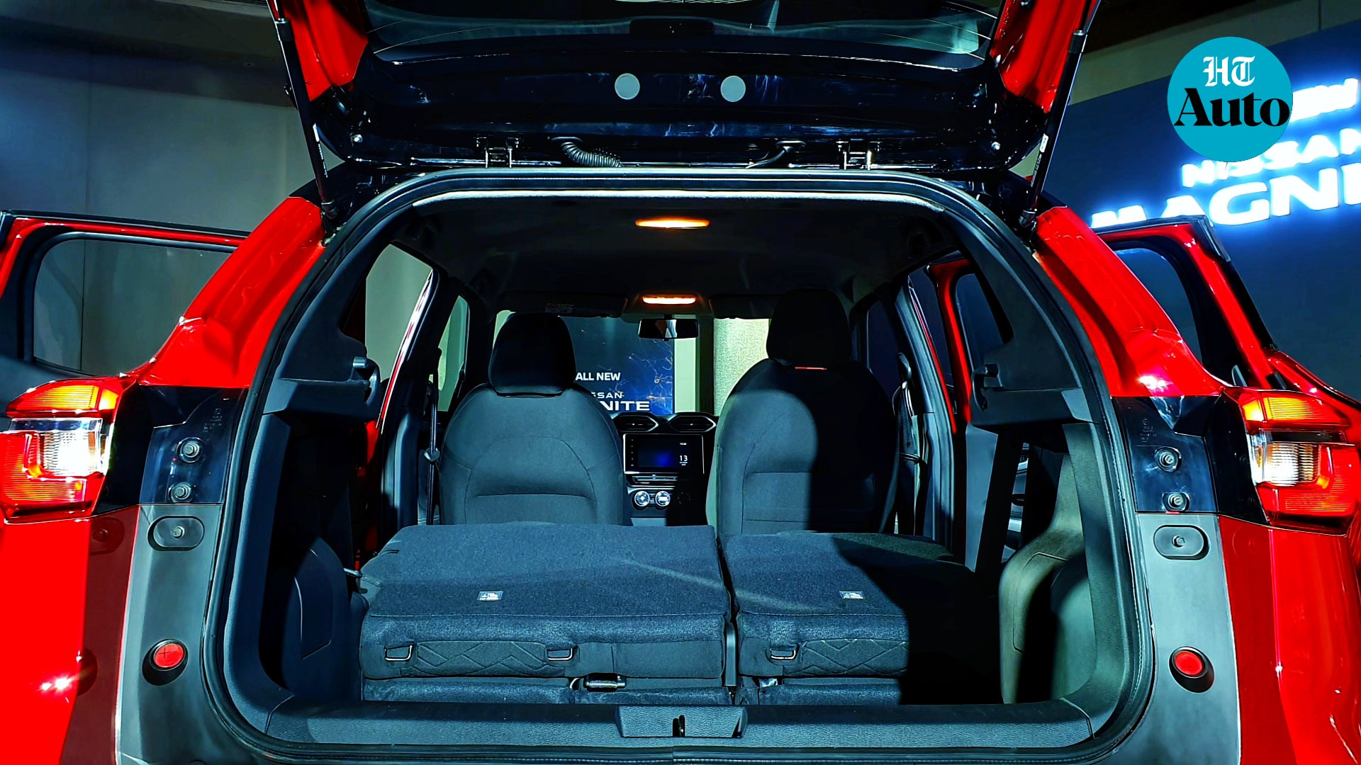 There is 336 litres of cargo space - the rear seats can be folded in 60:40 split - which is sufficient for a vehicle in this segment. (HT Auto/Sabyasachi Dasgupta)