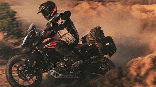 European-spec KTM 390 Adventure