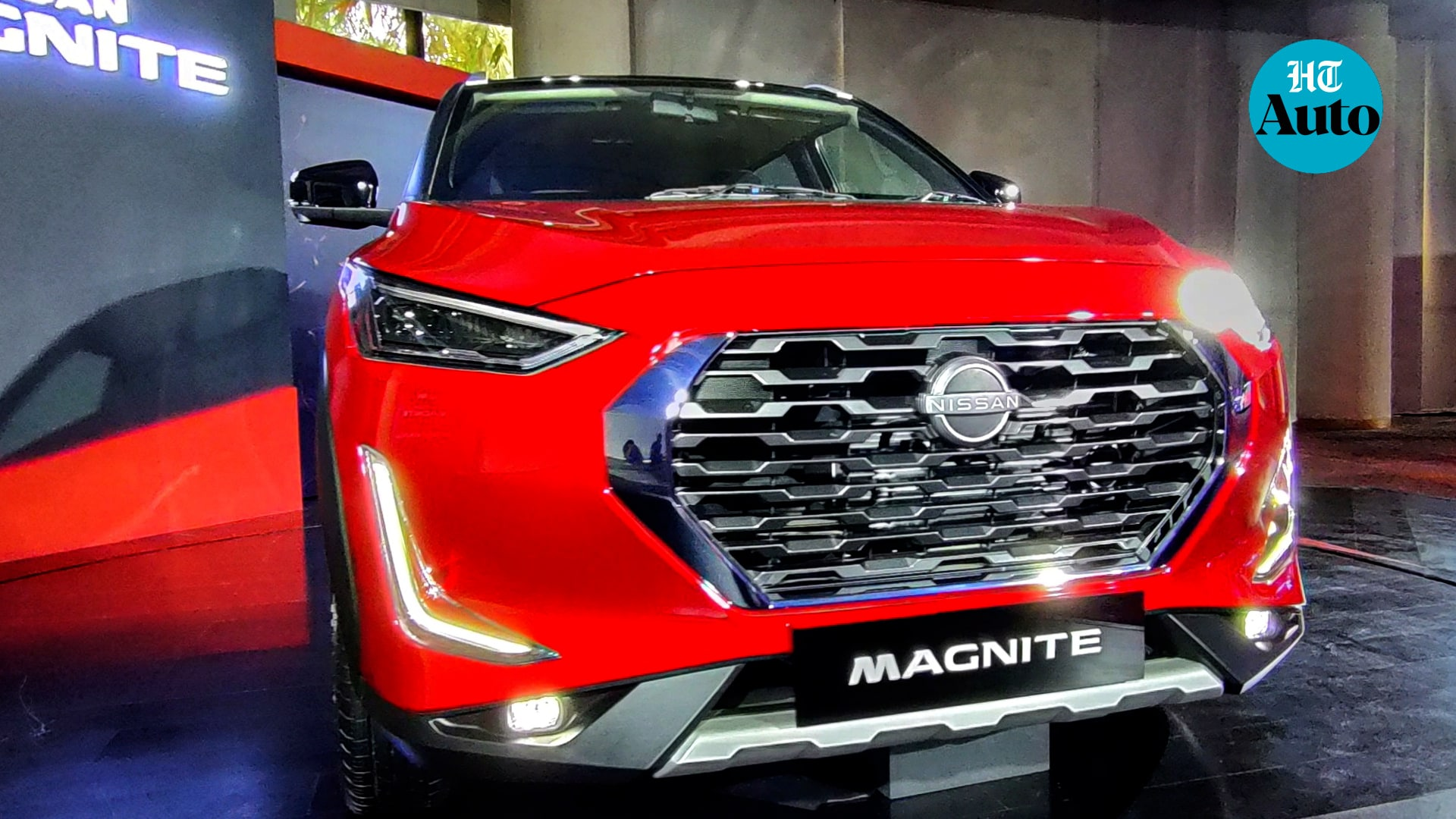 Magnite is expected to be launched in India in late November. The car will challenge the established segment players like Hyundai Venue and Maruti Suzuki Vitara Brezza as well as relatively new challengers like Kia Sonet and Toyota Urban Cruiser. (HT Auto/Sabysachi Dasgupta)