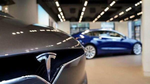File photo of Tesla cars. (REUTERS)