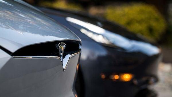 File photo of Tesla cars used for representational purpose. (Bloomberg)