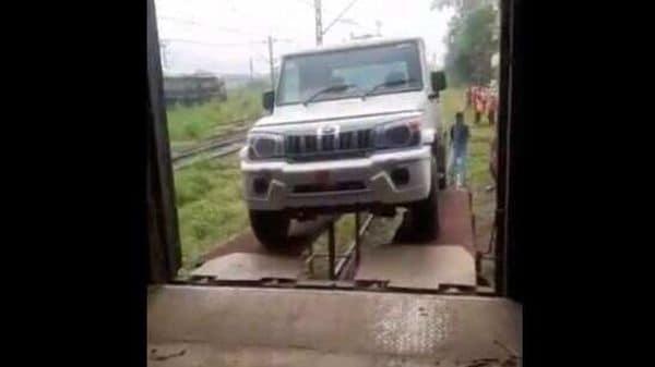 Anand Mahindra thanks Indian Railways for transporting Bolero to Bangladesh