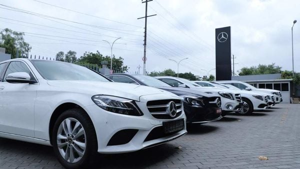 Mercedes says demand for C-Class and E-Class sedans as well as GLC, GLE and GLS is driving sales in India.