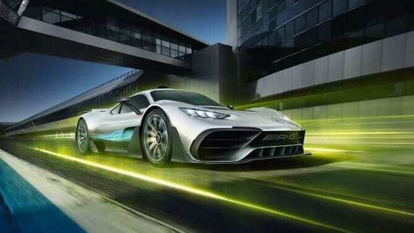 Mercedes-AMG One is a plug-in hybrid that is in early stages of development.