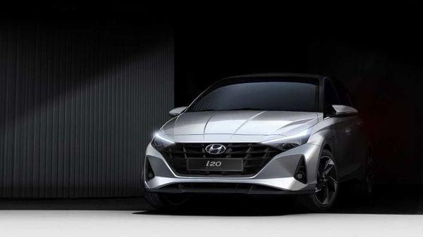 Design sketches of 2020 Hyundai i20.