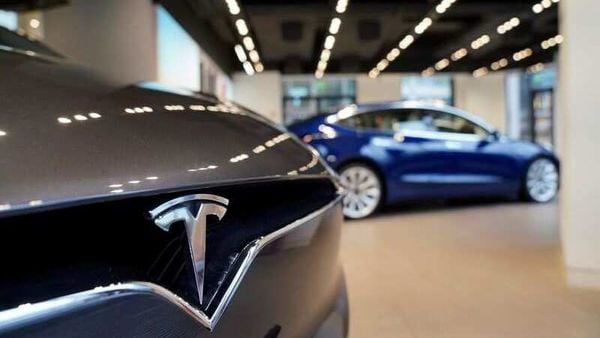 FILE PHOTO: A Tesla logo is seen at a Tesla showroom in Shanghai, China January 7, 2019. REUTERS/Aly Song (REUTERS)