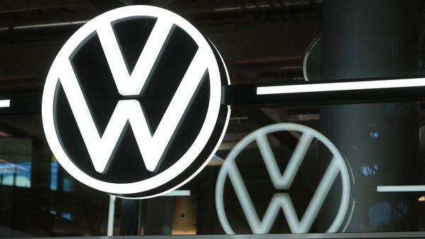 Representational file photo of a Volkswagen (VW) logo. (Bloomberg)