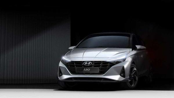 Representational image of 2020 Hyundai i20's design sketch.