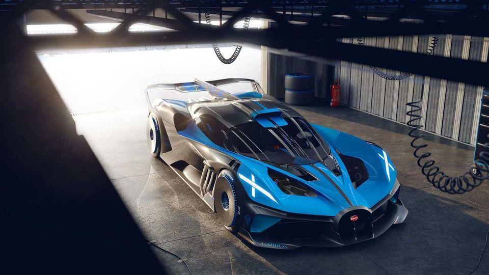 Meet Bugatti Bolide A Track Only 1 824 Bhp Hypercar Concept