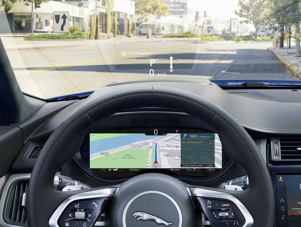 There is also an optional 12.3-inch HD Interactive Driver Display with enhanced graphics and a configurable layout which can show full screen navigation mapping with turn-by-turn instructions, digital dials, media, contact list or infotainment details.