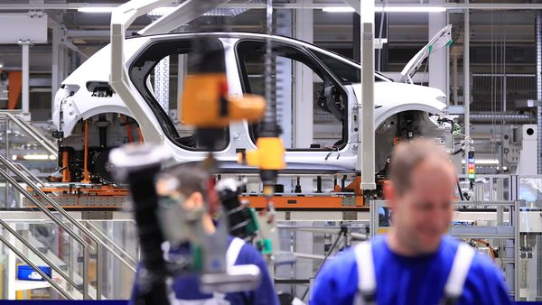 File photo of car factory used for representational purpose (Bloomberg)