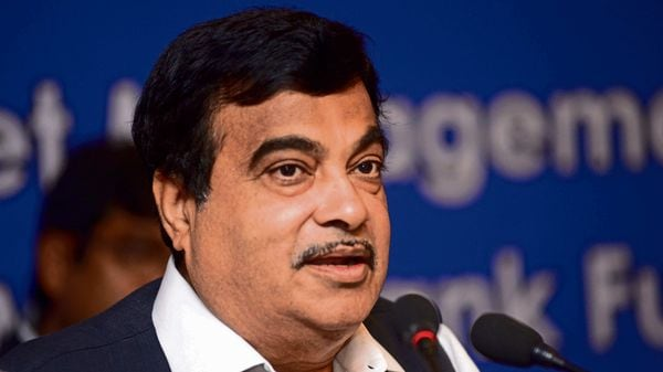 Nitin Gadkari said the Centre has proposed to build a double-decker flyover connecting Chennai Port with other vital locations in Tamil Nadu. (MINT_PRINT)
