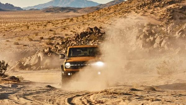 The launch of Bronco (in pic), electric Mustang Mach-E and a redesigned F-150 pickup may have helped Ford revive its fortunes in the US.
