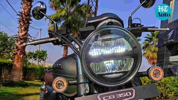 H'Ness CB350. Image Credits: Prashant Singh
