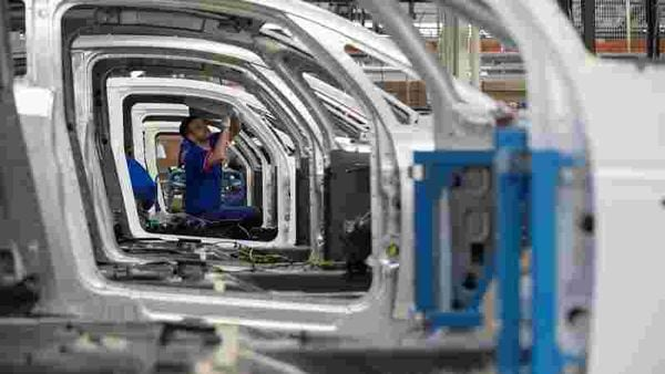 Representational image of an automobile assembly line (REUTERS)