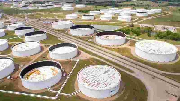 Representational photo of Crude oil storage tanks (REUTERS)