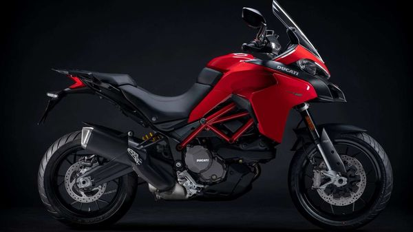Ducati Multistrada 950 S is currently available only in red but a white colour option will be made available soon.
