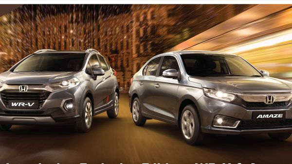 Special edition Honda Amaze and WR-V have been launched in the Indian market.