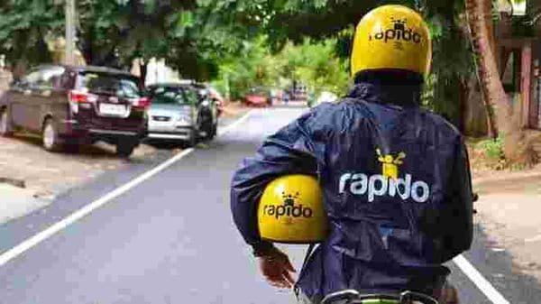 A Rapido bike taxi (Photo Courtesy: Rapido)