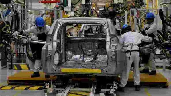 File photo of workers assembling a Mitsubishi Pajero at a Mitsubishi car factory used for representational purpose only. (REUTERS)