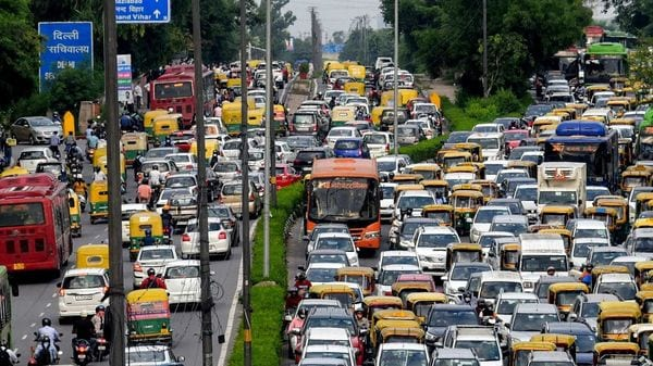 Over 10,000 HSRPs and 1,000 colour-coded stickers have been booked for installation by vehicle owners in Delhi after booking resumed on November 1. (File Photo)