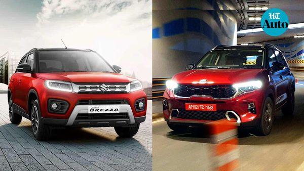 Maruti Suzuki Vitara Brezza and Kia Sonet SUVs emerged as the top-selling sub-compact SUVs in October,