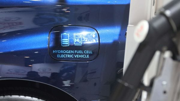 File photo of a 2020 Toyota Mirai hydrogen electric fuel cell car is used for representational purpose only (REUTERS)