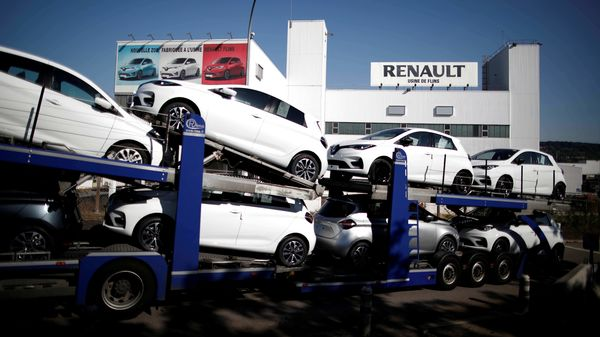 Car sales fell in Europe's four largest auto markets last month, signaling demand has relapsed in the midst of another wave of Covid-19 cases. (File photo) (REUTERS)