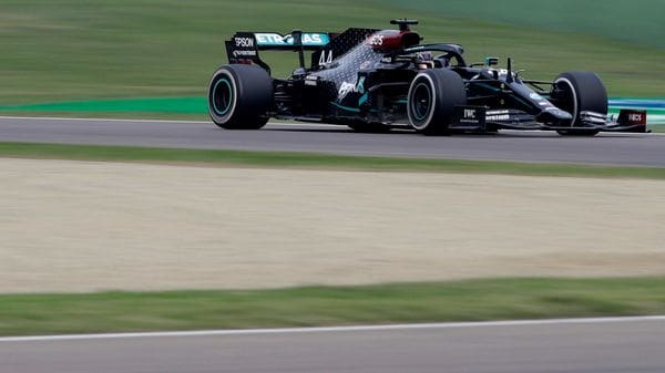 File photo of Mercedes F1 driver Lewis Hamilton in action. (Image used for representational purpose. (Pool via Reuters)