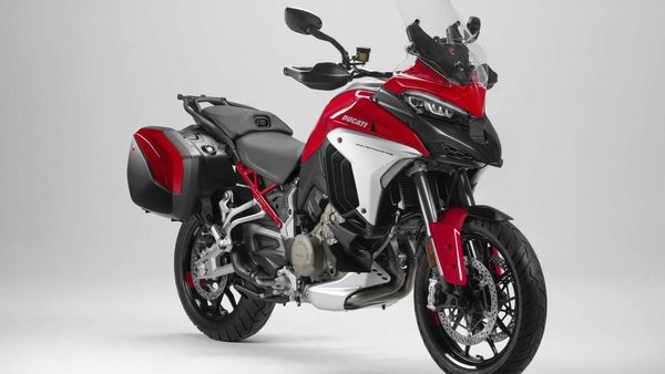 Ducati Multistrada V4 is the world's first production bike with the front and rear rider assistance radar-system