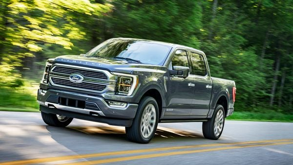 Ford's US sales fell 6.1% in October, dragged down in part by a factory overhaul to produce the redesigned version of its top-selling F-150 pickup truck.