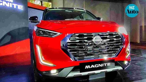 Nissan Magnite SUV is expected to be launched in India in late November. (HT Auto/Sabyasachi Dasgupta)