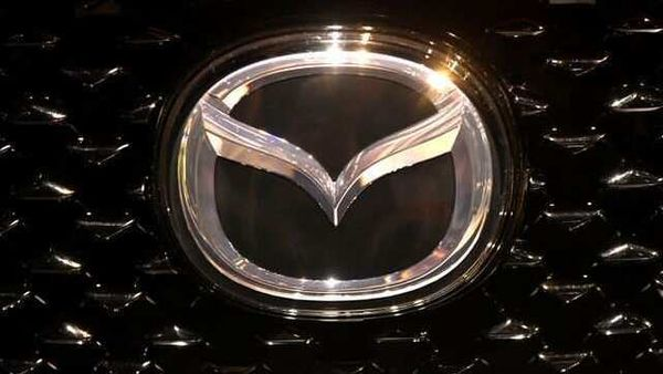 The logo of Mazda is pictured at the LA Auto Show in Los Angeles, California, US. (REUTERS)