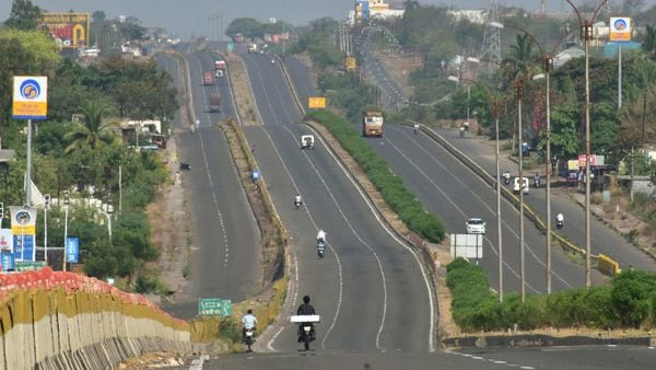 Nitin Gadkari bats for higher speed limits for vehicles on multi-lane roads. (File photo) (PTI)