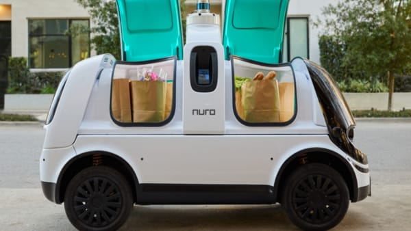 Nuro R2 self-driving vehicle
