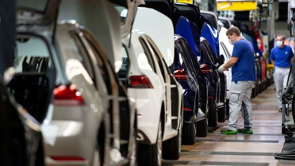 FILE PHOTO of a Volkswagen assembly line in Germany used for representational purpose (REUTERS)