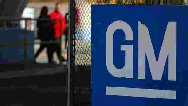 The GM logo is seen at the General Motors plant in Sao Jose dos Campos, Brazil, (REUTERS)