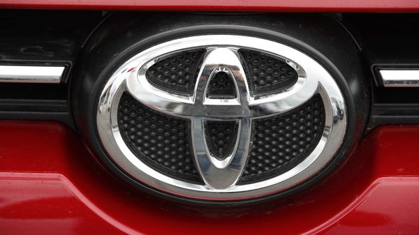 File photo of a Toyota logo (Bloomberg)