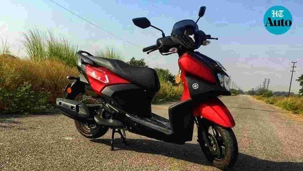 Yamaha Ray ZR 125 scooter