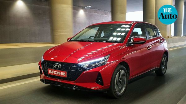Hyundai i20 2020 gets multiple engine and transmission options, apart from a long list of single and dual-tone colour options. (HT Photo/Sabyasachi Dasgupta)