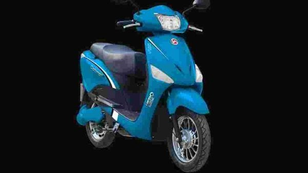 File photo of a Hero Electric scooter.
