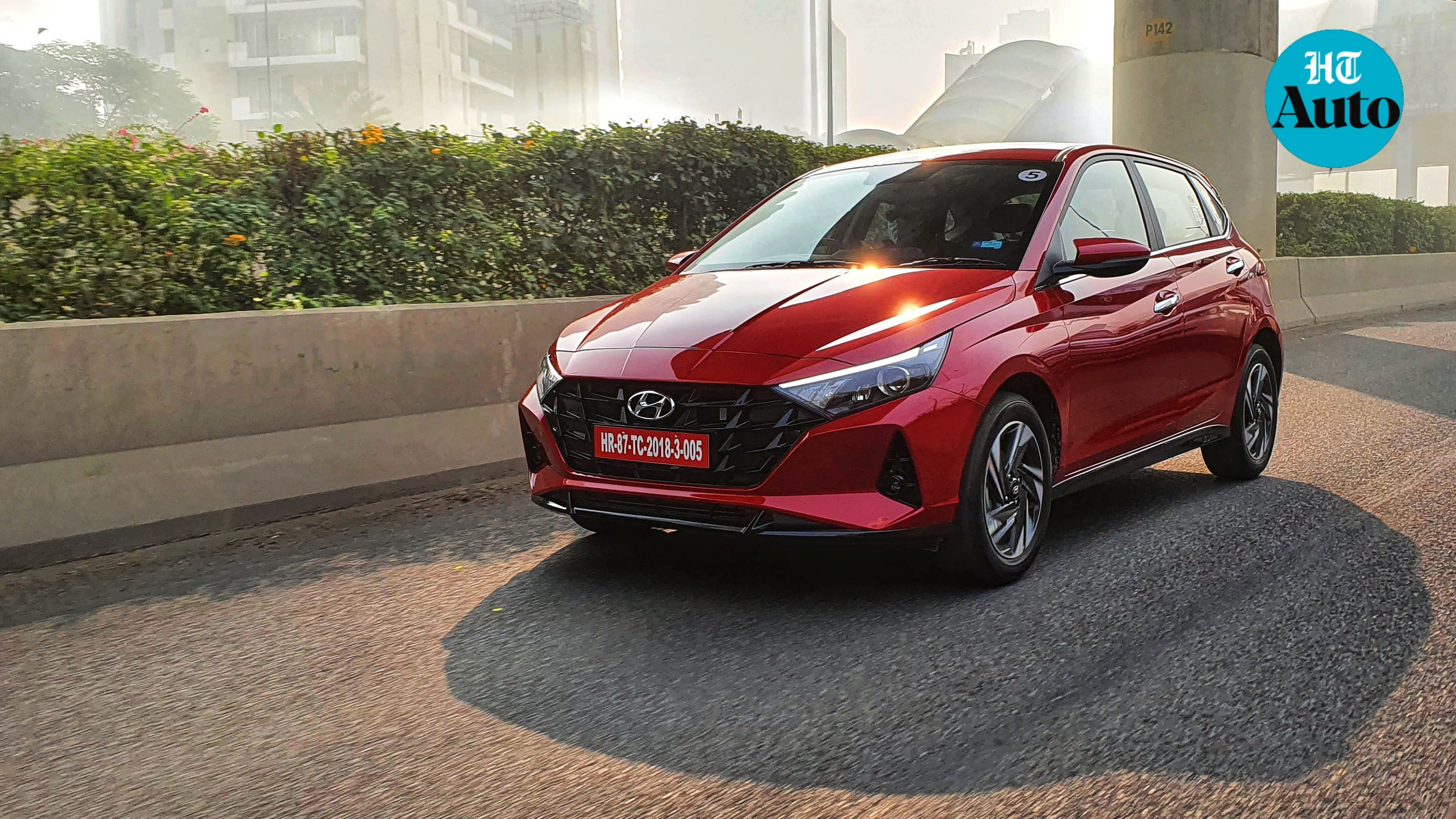 Hyundai claims that the i20 has a stronger body structure and higher crash worthiness than ever before. Other safety highlights include six airbags, Vehicle Stability Management and Electronic Stability Control, Hill Assist Control and rear parking camera. (HT Photo/Sabyasachi Dasgupta)