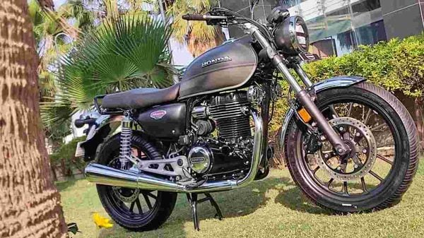 Honda H'Ness CB 350 competes with the newly launched Royal Enfield Meteor 350. Image Credits: Prashant Singh