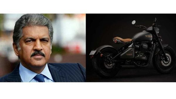 Anand Mahindra has tweeted a picture of the Perak cruiser with a caption that reads - Perak, The Dark Knight.
