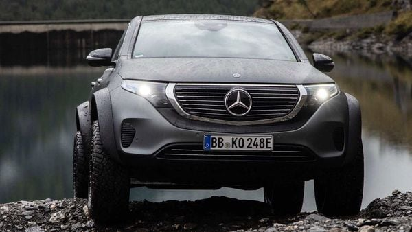 File photo of a one-off Mercedes EQC 4X4 SUV. (Image used for representational purpose)